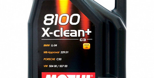 Моторное масло MOTUL 8100 X-clean + 5w30 5л