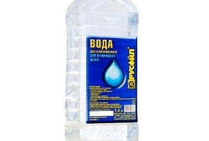 Вода дистиллированная Русойл 20л