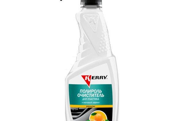 Полироль очиститель для пластика Kerry апельсин  500мл