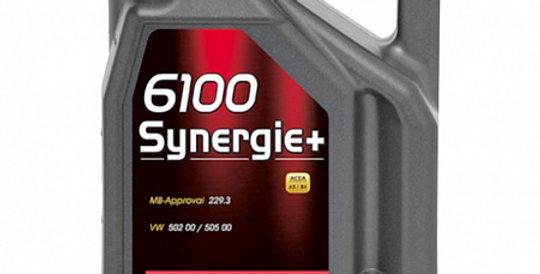 Моторное масло MOTUL 6100 Synergie+ 5w30 4л