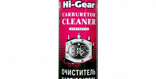 Очиститель карбюратора синтетический HI-GEAR 3121 аэрозоль 510г