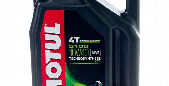 Моторное масло MOTUL 5100 Ester 4T 10w40 4л