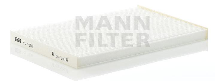 Фильтр салонный MANN FILTER CU1936