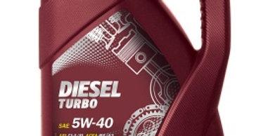 Масло моторное Mannol Diesel Turbo 5w40  5л.