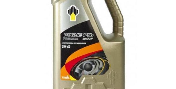 Масло моторное Роснефть Premium 5w40 4л.