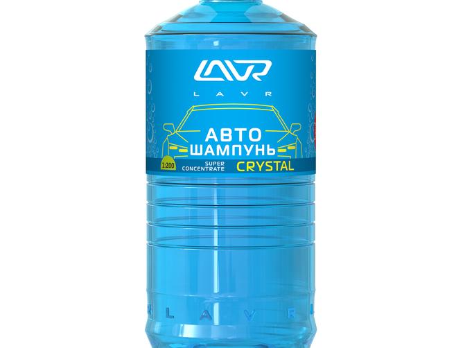 Автошампунь Lavr Crystal 1л
