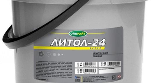 Литол-24 ОйлРайт 5кг