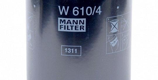 W610/4 MANN-FILTER Масляный фильтр
