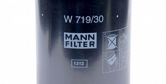W719/30 MANN-FILTER Масляный фильтр