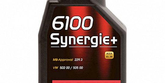 Моторное масло MOTUL 6100 Synergie+ 5w40 1л