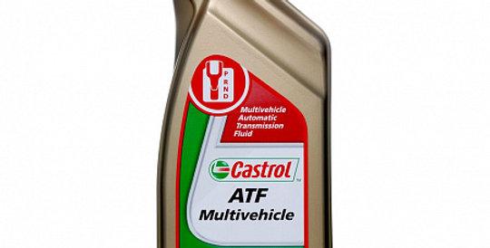 Масло автоматической коробки передач CASTROL ATF Multivehicle 1л