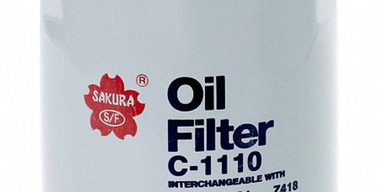 C1110 SAKURA Масляный фильтр