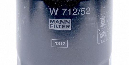 W712/52 MANN-FILTER Масляный фильтр