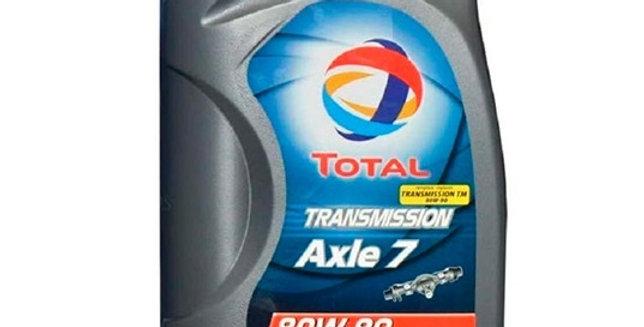 Масло трансмиссионное  TOTAL TRANSMISSION Axle7 80W90 1л