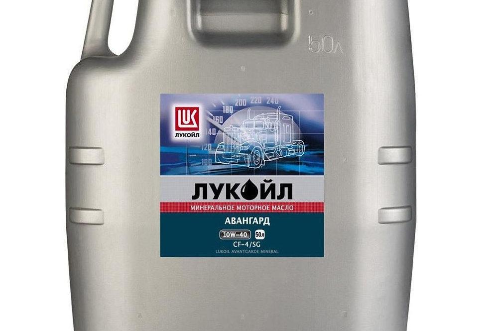 Масло моторное Лукойл Авангард п/синт. 10w40 50л.