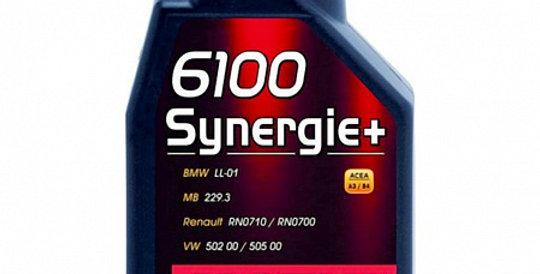 Моторное масло MOTUL 6100 Synergie+ 5w30 1л