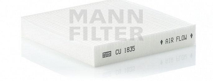 Фильтр салонный MANN FILTER CU1835