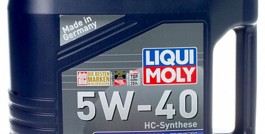 Моторное масло LIQUI MOLY Optimal Synth 5w40 4л