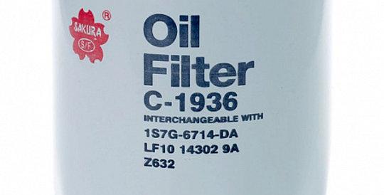 C1936 SAKURA Масляный фильтр