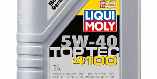 Моторное масло LIQUI MOLY HC Top Tec 4100 5w40 1л