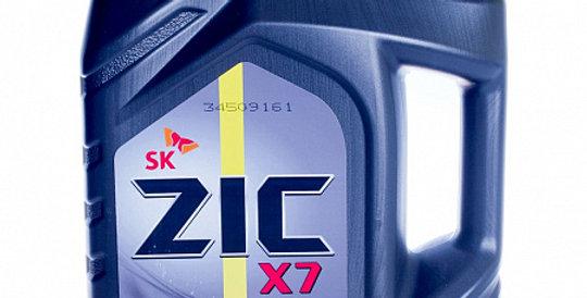 Моторное масло ZIC X7 LS 10w40 4л