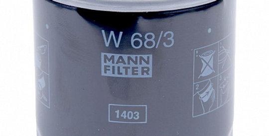 W68/3 MANN-FILTER Масляный фильтр