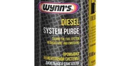 Промывка инжекторной системы дизельного двигателя Wynn's 1л
