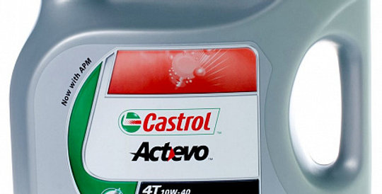 Моторное масло CASTROL Act>Evo 4T 10w40 4л