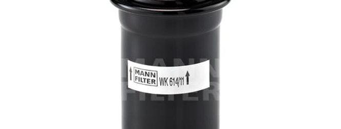 Фильтр топливный MANN FILTER WK 614/11