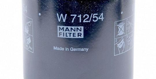 W712/54 MANN-FILTER Масляный фильтр