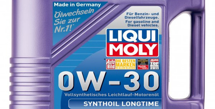 Моторное масло LIQUI MOLY Synthoil Longtime 0w30 5л