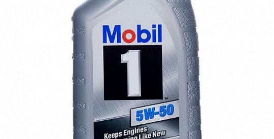 Моторное масло MOBIL 1 5w50 1л