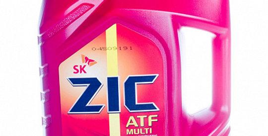 Масло автоматической коробки передач ZIC ATF Multi Vehicle 4л