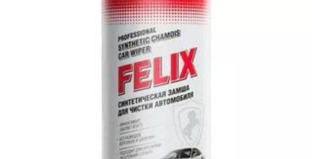 Синтетическая замша для чистки автомобиля Felix
