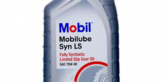 Масло осевого редуктора MOBIL Mobilube Syn LS GL-5 75w90 1л