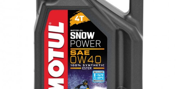 Масло моторное Motul Snow power 4T 0w40 4л.