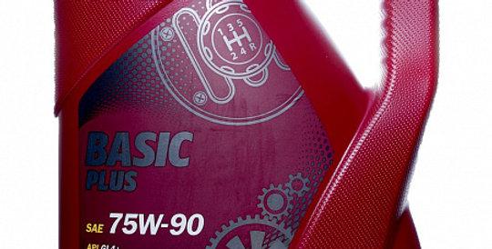 Масло ступенчатой коробки передач MANNOL Basic Plus GL 4+ 75w90 4л