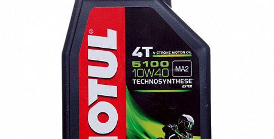 Моторное масло MOTUL 5100 Ester 4T 10w40 1л