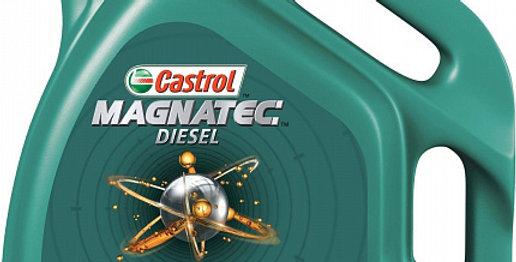 Моторное масло CASTROL Magnatec Diesel 10w40 4л