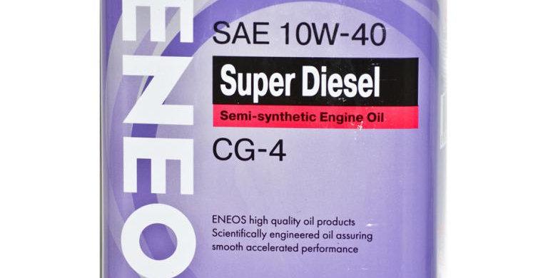 Моторное масло Eneos Super Diesel 10W40 4л ж/б