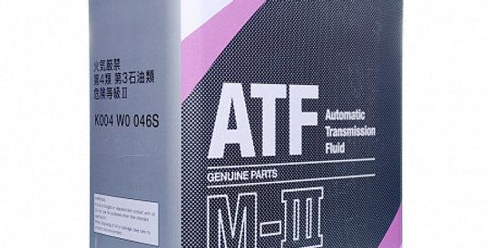 Масло автоматической коробки передач MAZDA ATF M-3 4л