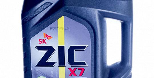 Моторное масло ZIC X7 Diesel 5w30 4л