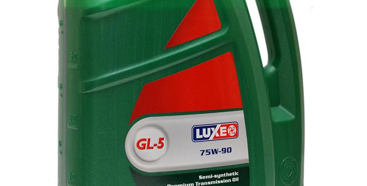 Масло трансмиссионное Luxe GL-5 75w90 4л