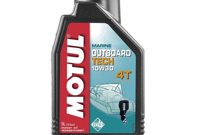Масло моторное Motul Outboard TECH 4T 10w30 1л.