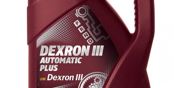 Масло автоматической коробки передач MANNOL ATF Dexron III 4л