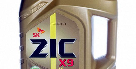 Моторное масло ZIC X9 LS Diesel 5w40 4л