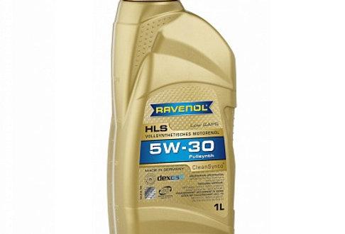 Моторное масло Ravenol HLS 5w30 1л.
