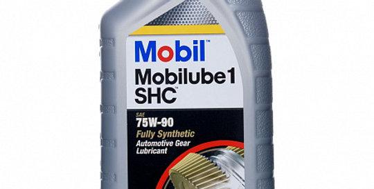 Трансмиссионное масло Mobil Mobilube1 SHC 75w90 1л.