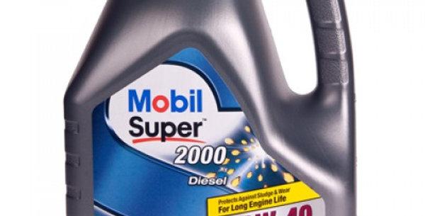 Масло моторное Mobil Super 2000 diesel 10w40 4л.