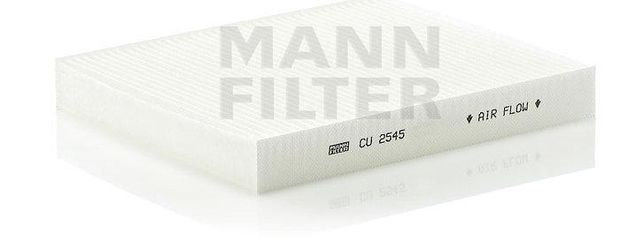 Фильтр салонный MANN FILTER CU2545